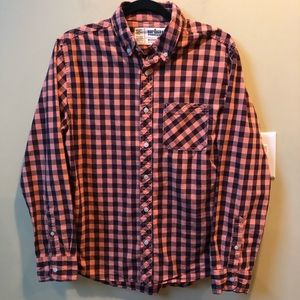 Urban Pipeline boys plaid button down shirt